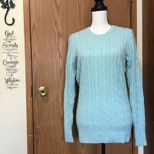Vineyard Vines Cashmere/Wool Blend Cable Knit